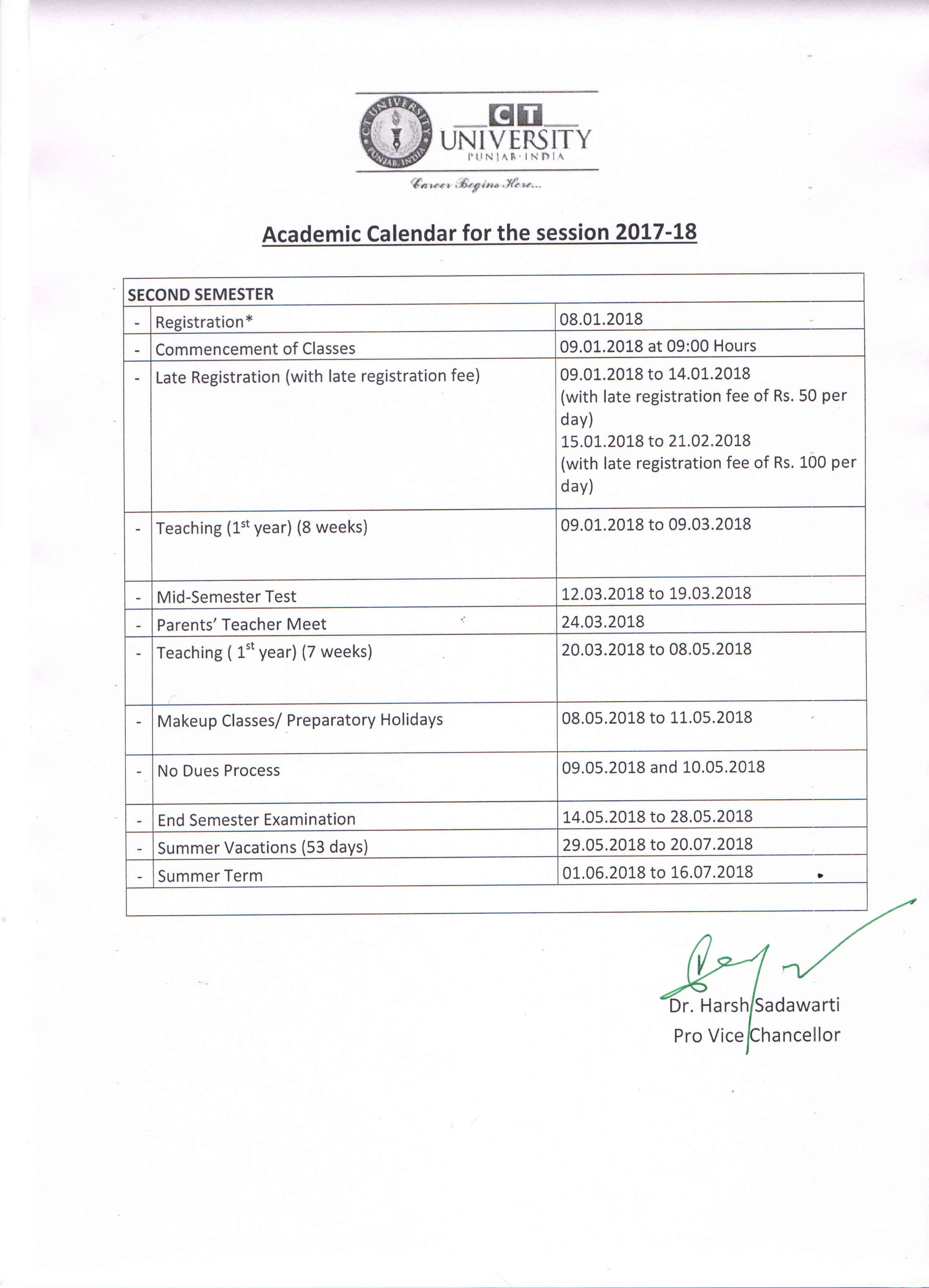 Ball State Academic Calendar 2022.Academic Calendar Ct University Academic Calendar